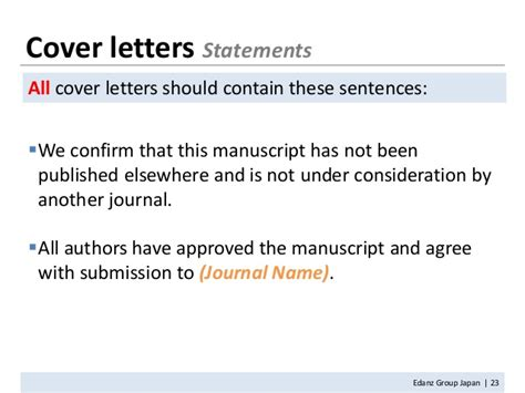 Response Letter For Manuscript How To Write A Manuscript 11302010