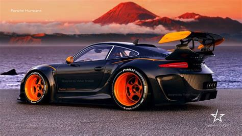 porsche 911 concept cars porsche hurricane le mans gt racer for the 2020 season