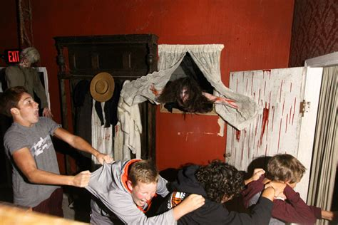 Haunted House Room Ideas by October 2012 Scare Zone