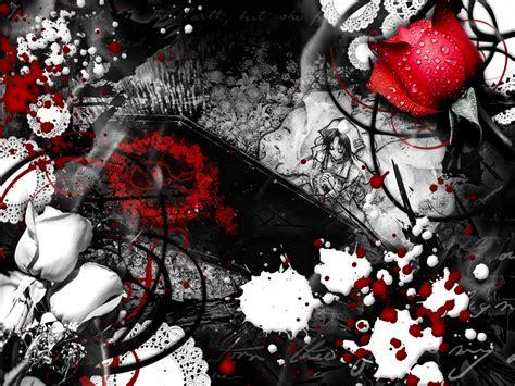 wallpaper dark blood red white black colors wallpaper 33002789 fanpop