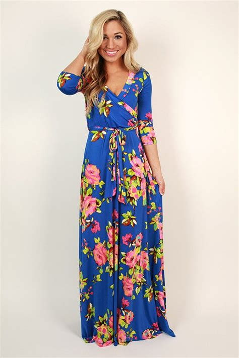 easter maxi dress fields of pretty maxi dress in royal blue summer dresses