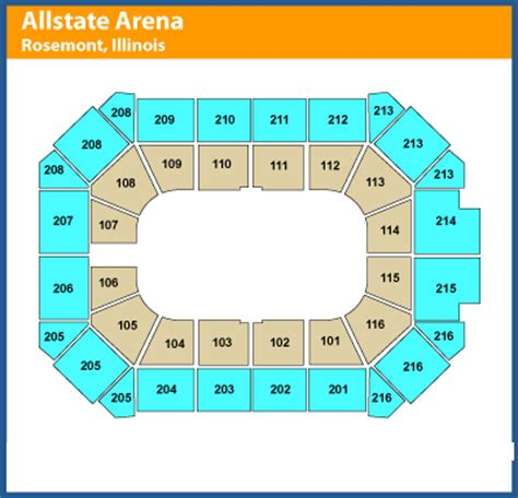 allstate arena seating pictures jam allstate arena tickets february 08 2015 at 7