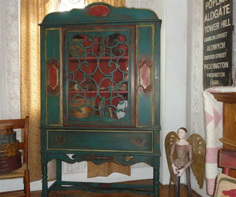 chalk painted antique china cabinet chalk painted antique china cabinet treasure trunkin