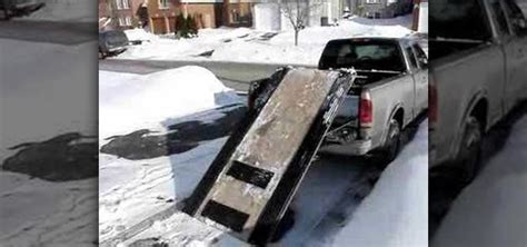build your own sled lift homemade snowmobile lift car interior design