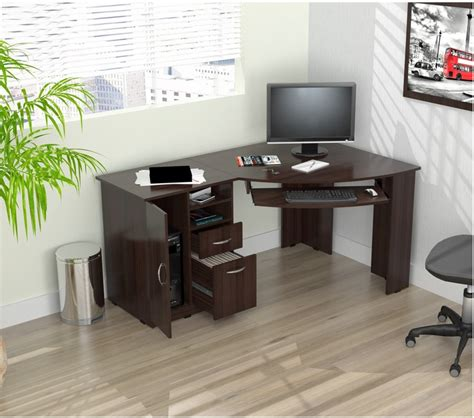 Computer Desk Workstation Corner Desk L Shaped Home Office Gaming Corner Desk