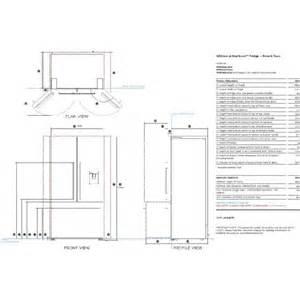 French Door Units - rf540adusx4 fisher amp paykel activesmart american style french door fridge freezer 900mm