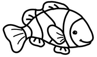 free clown fish coloring pages