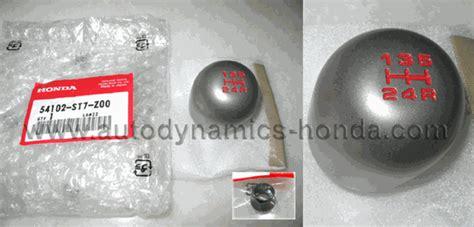 honda civic ek9 integra db8 dc2 type r st7 titanium shift knob