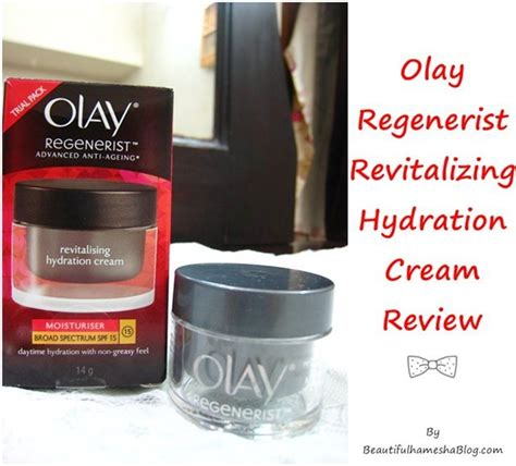 Olay Regenerist Revitalising Hydration olay regenerist revitalizing hydration review