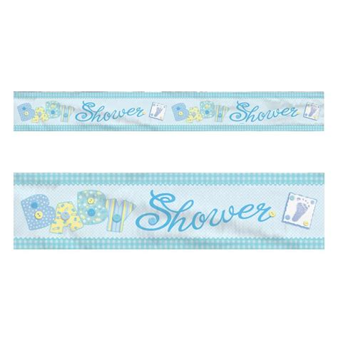 bathroom banner blue baby shower banner boy banners party decorations foil