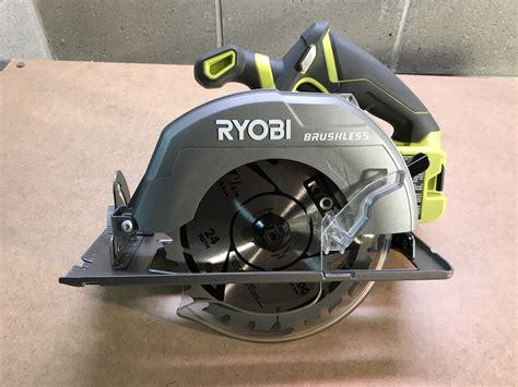 ryobi table saw blade size ryobi p508 18v brushless circular saw review a size