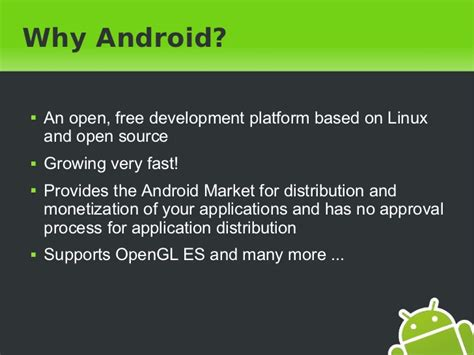 Why Android Is Open Source by 3d In Android