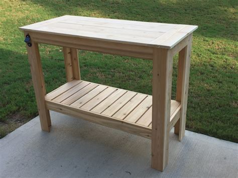Outdoor Grill Table by Grilling Table Buildsomething