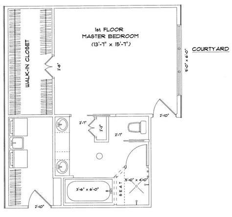 master bedroom floor plans  ensuite images  pinterest master bedrooms