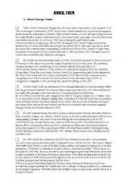 george orwell biography worksheet esl worksheets for adults animal farm