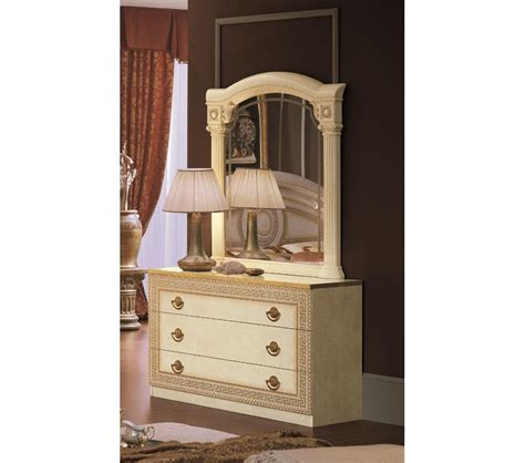 Single Dresser With Mirror dreamfurniture aida single dresser with mirror