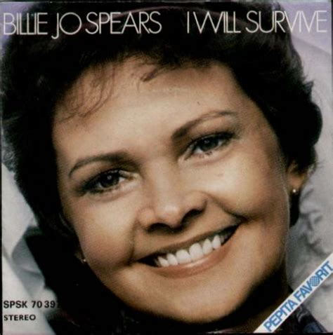 billie jo spears billie jo spears i will survive records lps vinyl and