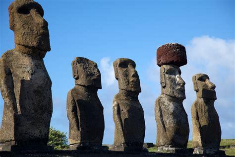 imagenes de esculturas historicas easter island ahu tongariki easter island www dec am