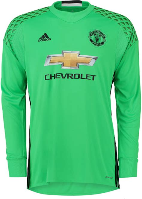 Baju Adidas Glow In The manchester united 16 17 goalkeeper kit released footy headlines
