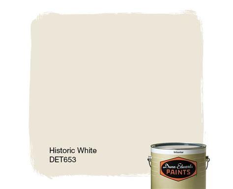dunn edwards paints paint color historic white det653 click for a free color sle