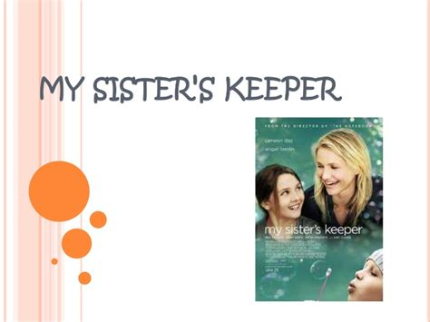 my sisters keeper 1444754343 my sister s keeper