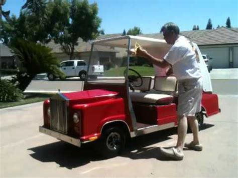 Rolls Royce Golf Cart by Rolls Royce Golf Cart
