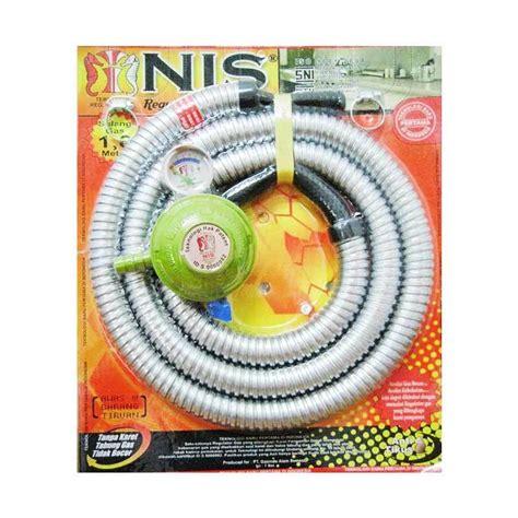 Selang Paket Indo Gas 3 jual nis selang regulator gas paket meteran harga kualitas terjamin blibli