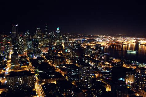 seattle nightlife map view of seattle im disappointed all these