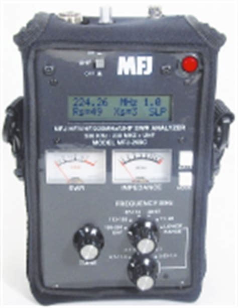 mfj  swr analyzer accessories