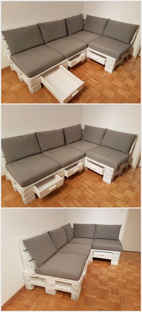 create a couch from wooden pallets wonderful creations made with reused wood pallets pallet