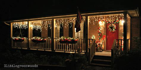 bright and cheery christmas porch