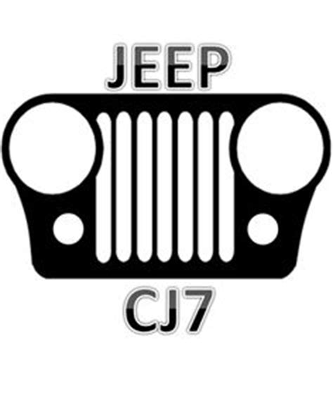 jeep cj grill logo 1000 images about jeep thing on pinterest jeep decals