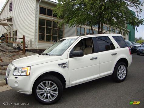 land rover hse white alaska white 2009 land rover lr2 hse exterior photo