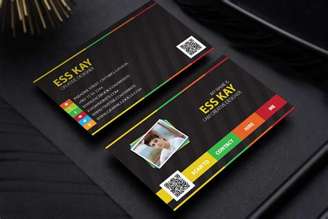 personal business cards templates free free designers creative personal business card template psd