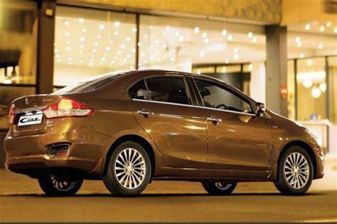 maruti suzuki sedan maruti suzuki ciaz will now be sold through nexa showrooms
