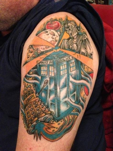 tattoo online community community post 50 fantastic quot doctor who quot tattoos the