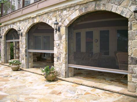 retractable patio screen extraordinary costco retractable screens decorating ideas gallery in porch traditional design ideas