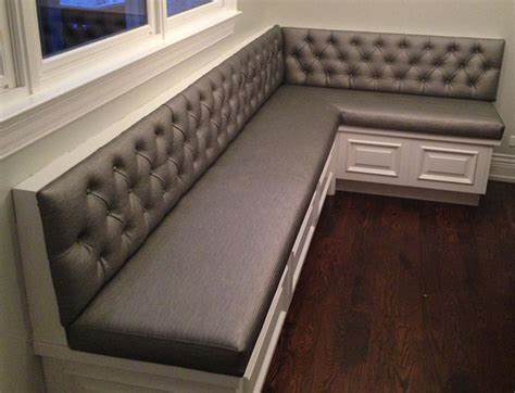 corner bench seat custom banquette seating