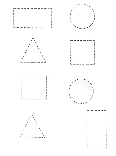 Professora Michelle: Atividades com formas geométricas