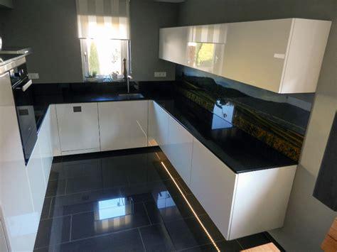 küche schwarz matt weiss mit k 252 che