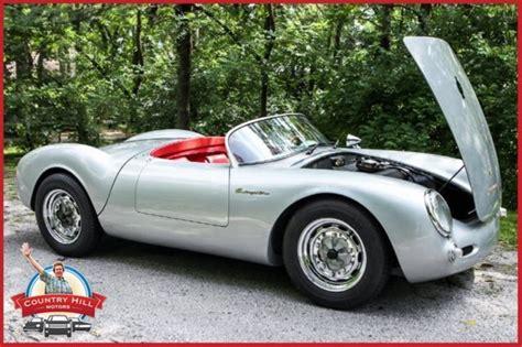 porsche spyder james dean 1955 porsche 550 beck spyder james dean 1600cc vw for sale