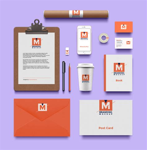 mockup design software free download 40 free branding identity mockups to be modern and