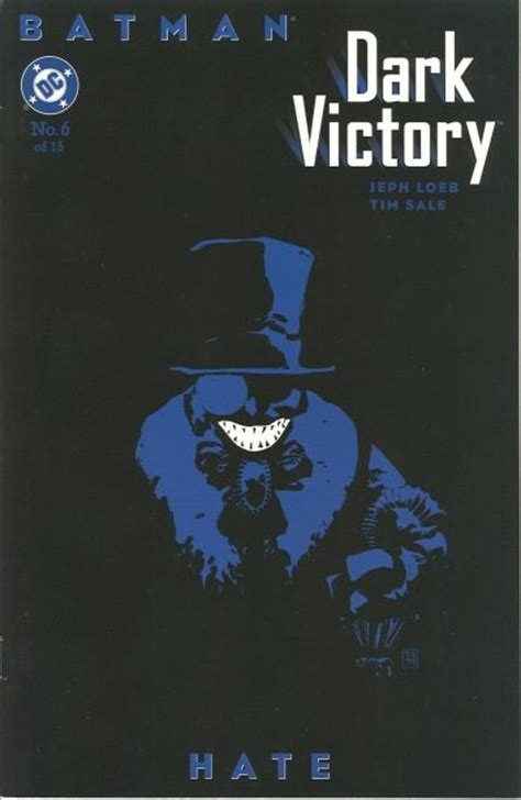 libro batman dark victory batman dark victory vol 1 6 dc comics database