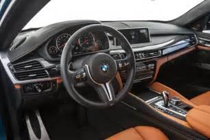 Bmw X6 Interior 2015 Bmw X6 M Test Review