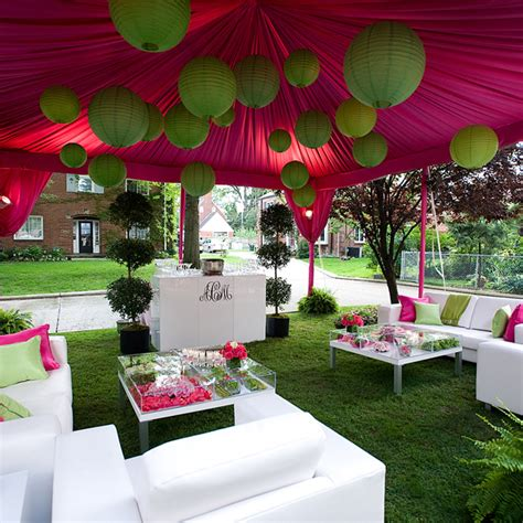 Cheap Yard Decorations Cocktail Tent Private Event The Event Group
