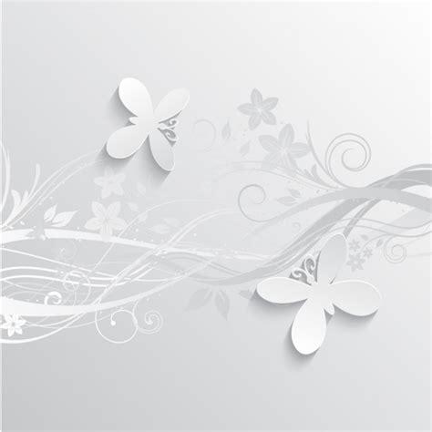 sfondi fiori e farfalle grigio fiori e farfalle sfondo scaricare vettori gratis