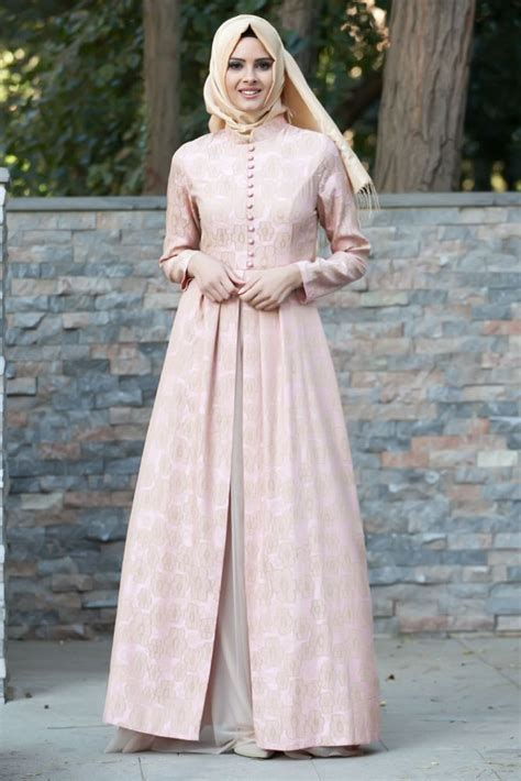 Baju Muslim Wanita Maxy Dress Brocade Combi Dress Brocade Maxy huzur soka苙i ya蝓amaya de茵er hobiler giyim ku蝓am