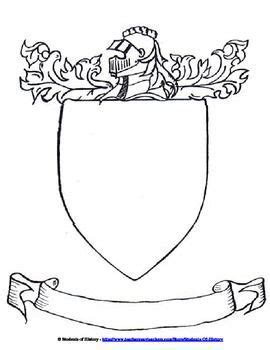 Coat Of Arms Template Cutlersclass Coat Of Arms Project Template