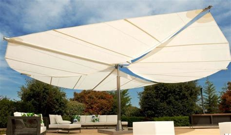 retractable umbrella awning retractable sail awnings by corradi outdoor umbrellas other metro by corradi