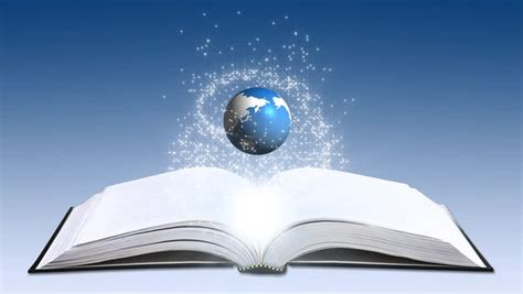global education concept animation stock footage video